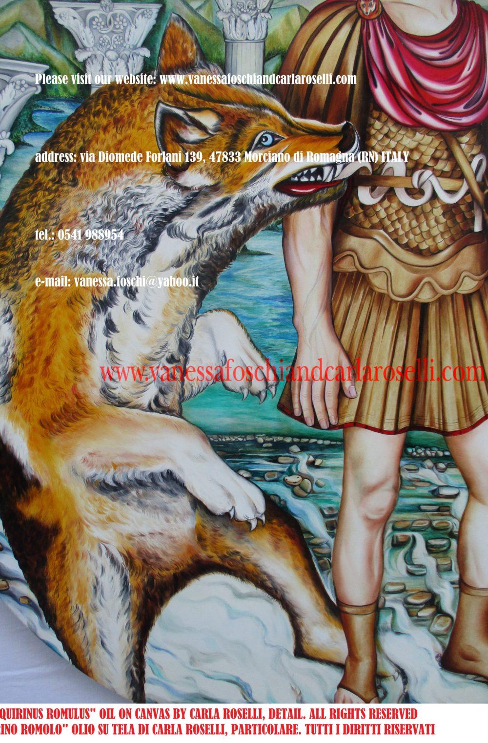 Quirinus Romulus king of Rome