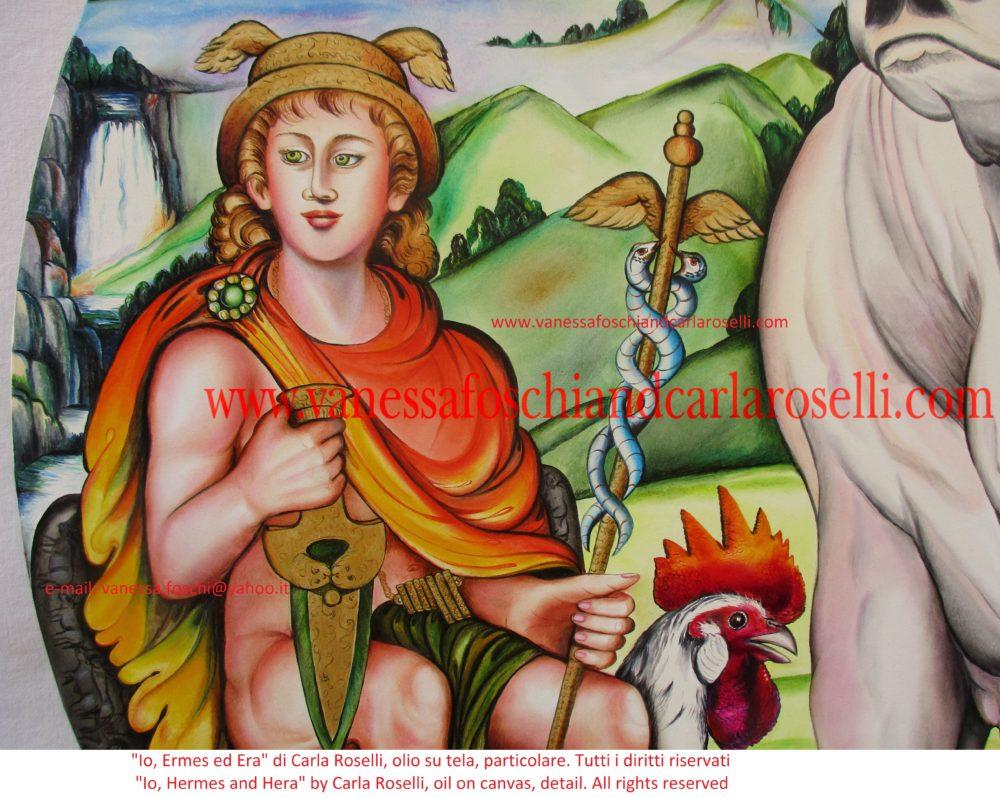 Hermes, as painted by Carla Roselli