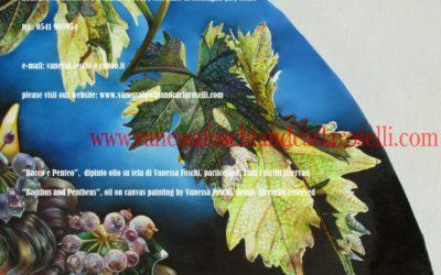 Bacco di Vanessa Foschi olio su tela particolare tutti i diritti riservati