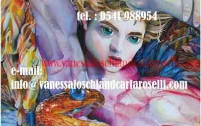 Gods, Alcioneo in Atena Predatrice di Vanessa Foschi, olio su tela, particolare. Tutti i diritti riservati.