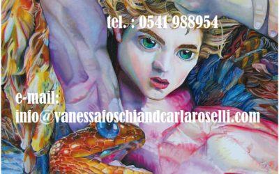 gods,Atena Predatrice (Alcioneo), olio su tela di Vanessa Foschi, particolare- Athena Predatory (Alcyoneus) , oil on canvas by Vanessa Foschi