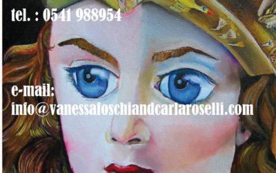 Atena Predatrice (Alcioneo), olio su tela di Vanessa Foschi, particolare- Athena Predatory (Alcyoneus) , oil on canvas by Vanessa Foschi, ITALY 97