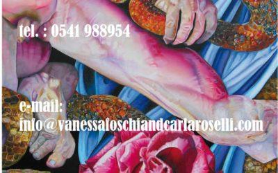 Gods di Vanessa Foschi olio su tela particolare tutti i diritti riservati