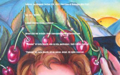 Gods, Pomona di Carla Roselli olio su tela, particolare. Tutti i diritti riservati