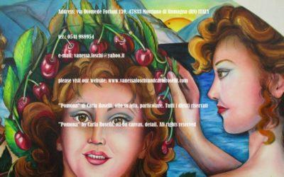 Gods di Carla Roselli olio su tela particolare tutti i diritti riservati