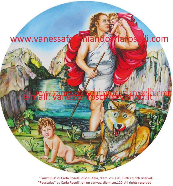 gods, greco-roman, Faustulus, Romulus, Remus, Faustolo, Romolo, Remo mythology