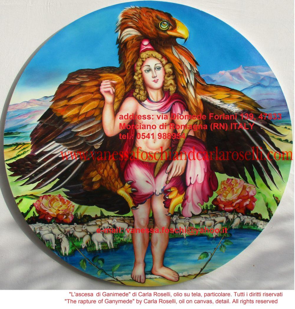 gods Ganymede with Zeus as an eagle