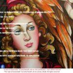 Il ratto di Ganimede, dipinto olio su tela di Carla Roselli - Ganymede, oil on canvas by Carla Roselli