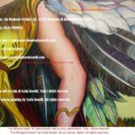 Vittoria Alata, dipinto olio su tela di Carla Roselli, ali - The Winged Victory, oil on canvas by Carla Roselli, wings