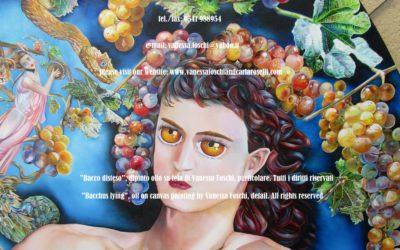 BACCO, PORTATORE DI LUCE Qui, fra gli dei, è dipinto da Vanessa Foschi Bacco, anche chiamato il