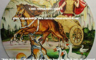 MARTE - DIO DELLA GUERRA Nel dipinto