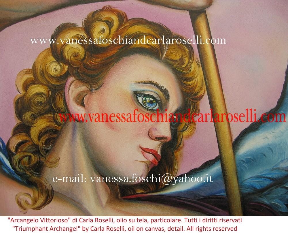 arcangeli nei dipinti di Carla Roselli