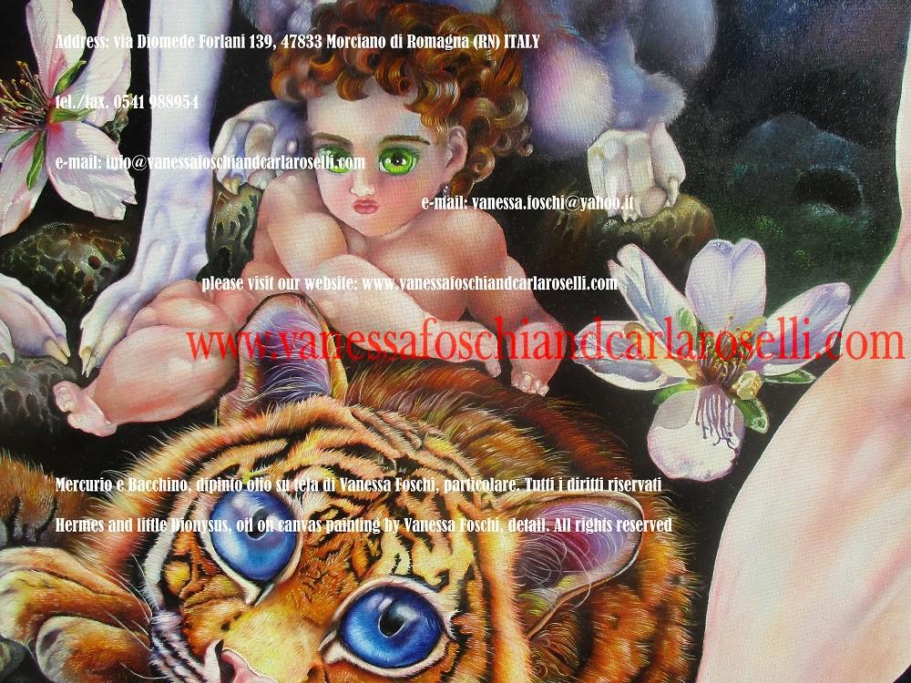 Bacchino su tigre