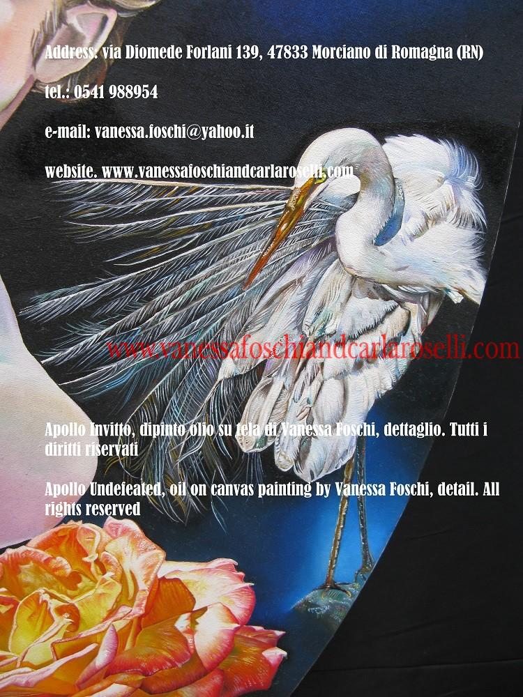 Apollo, profezia, airone