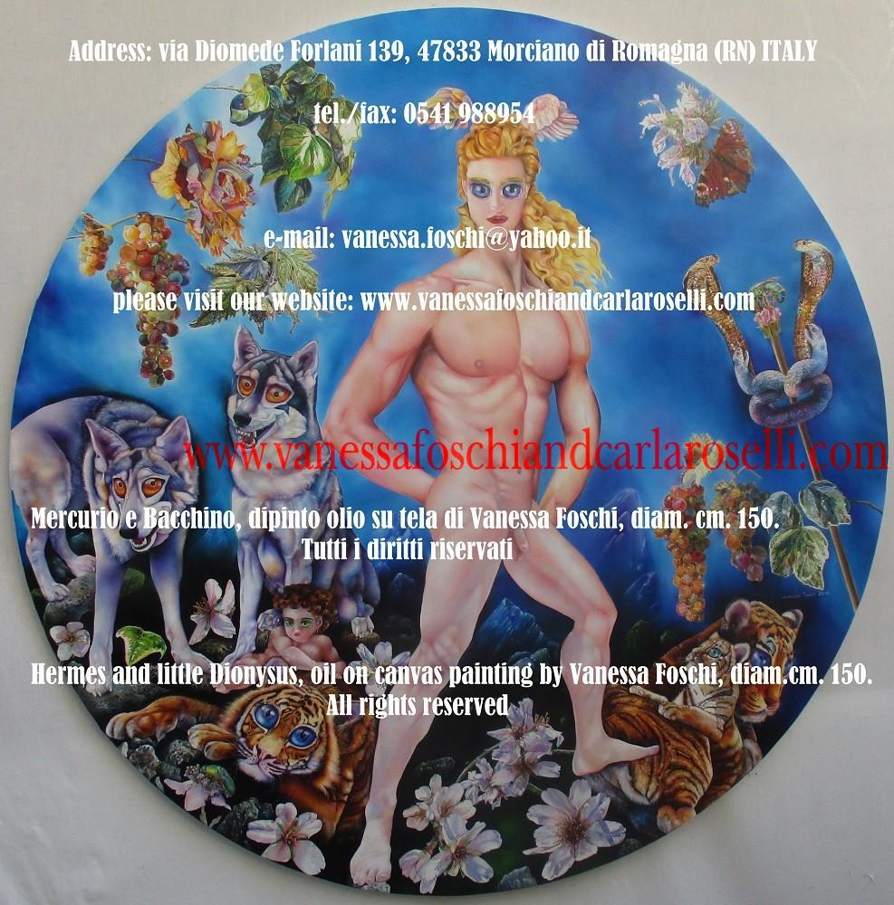 """A Mercurio competono la trasgressione ed il superamento dei limiti e come tale aveva un altare ad Olimpia come """"Enagònios"""""""