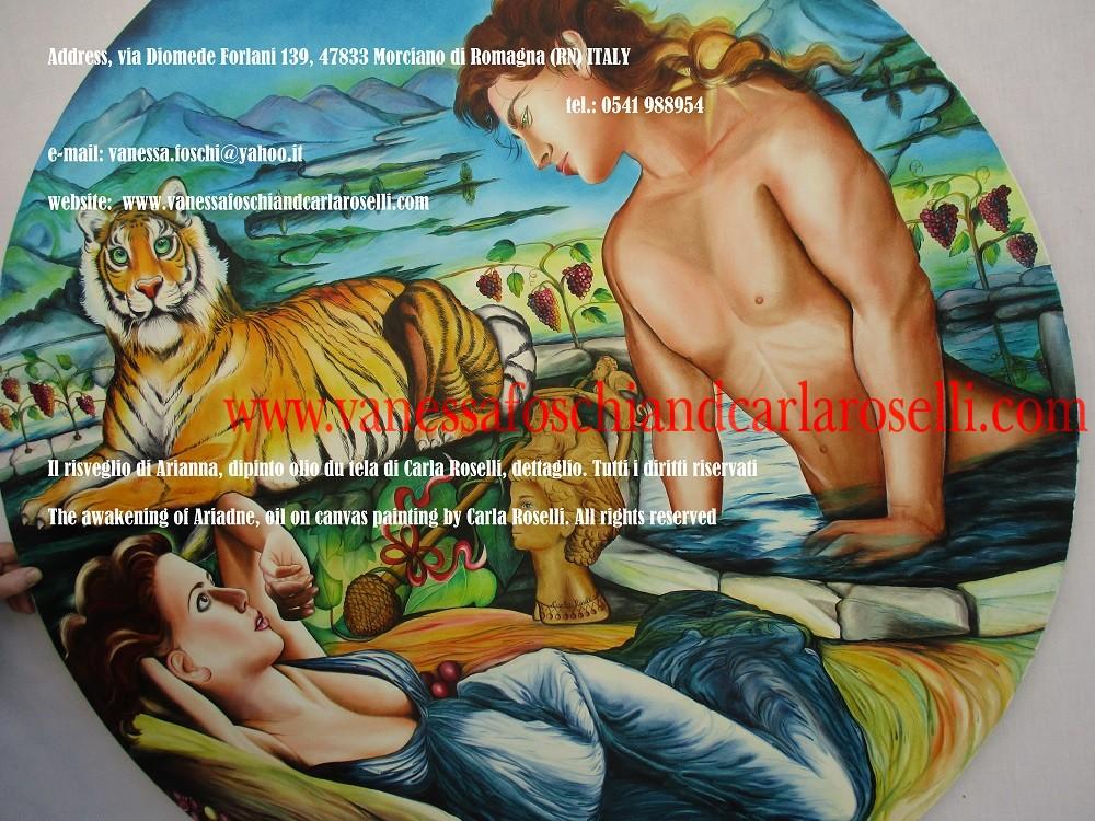 Greek gods, Bacchus awakens Ariadne on the isle of Naxos