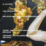 Bacchino, piccolo Bacco e uva Moscatello, dipinto di Vanessa foschi