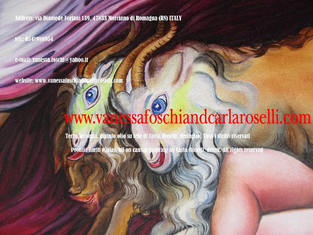 Terra feconda, Gaia, caprette di Carla Roselli