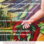 Vittoria Alata, dipinto olio su tela di Carla Roselli, ghirlanda di alloro